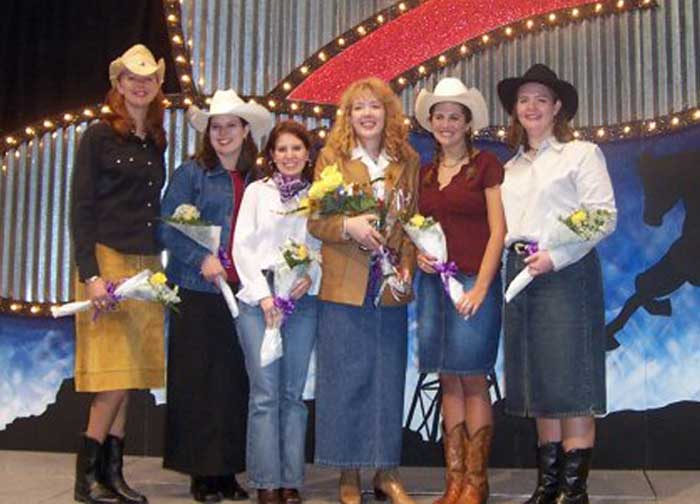 ACU Homecoming Queen Nominee '03 - yeehaw!