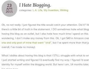 ihateblogging