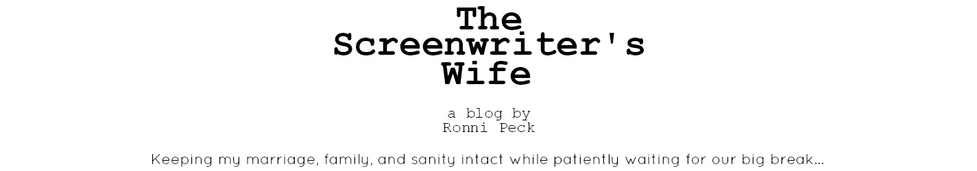The Screenwriter's Wife